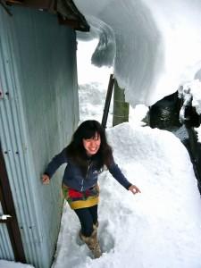 屋根雪パイプライン
