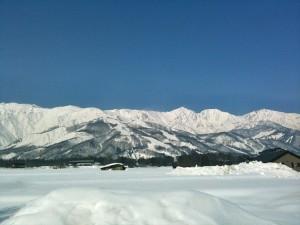八方遠景・冬