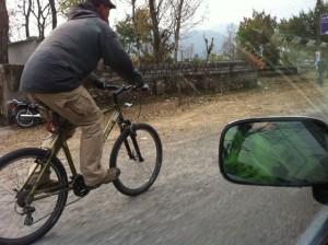斉藤さんサイクリング